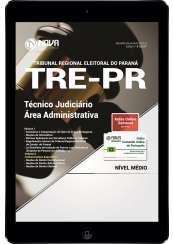 Download Apostila TRE-PR Pdf  - Técnico Judiciário – Área Administrativa