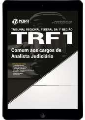 Download Apostila TRF 1ª Região Pdf - Comum aos cargos de Analista Judiciário
