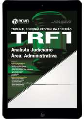 Download Apostila TRF 1ª Região PDF - Analista Judiciário - Área: Administrativa