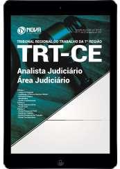 Download Apostila TRT-CE 7 ª Região Pdf  - Analista Judiciário - Área judiciária