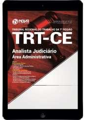 Download Apostila TRT-CE 7 ª Região Pdf - Analista Judiciário - Área administrativa