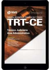 Download Apostila TRT-CE 7ª Região Pdf - Técnico Judiciário - Área administrativa