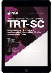Download Apostila TRT-SC (12ª Região) PDF - Analista Judiciário - Oficial de Justiça