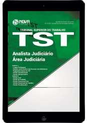 Download Apostila TST Pdf - Analista Judiciário – Área Judiciária