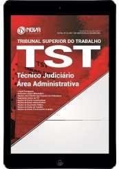Download Apostila TST 2017 Pdf - Técnico Judiciário – Área Administrativa