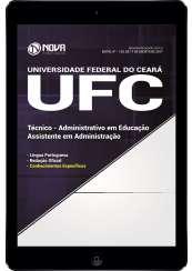 Download Apostila UFC (Universidade do Ceará) Pdf - Assistente em Administração