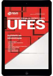 Download Apostila UFES Pdf - Assistente em Administração