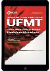 Download Apostila UFMT Pdf - Assistente em Administração