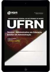 Download Apostila UFRN Pdf - Técnico: Administrativo em Educação - Auxiliar em Administração
