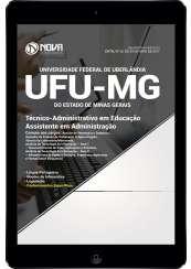 Download Apostila UFU-MG Pdf - Técnico-Administrativo em Educação: Assistente em Administração