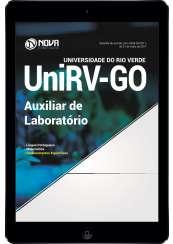 Download Apostila UniVR-GO Pdf - Auxiliar de Laboratório