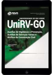 Download Apostila UniVR-GO Pdf - Aux. de Vigilância e Prevenção, Aux. de Serv. Gerais e Artífice da Construção Civil