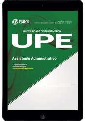Download Apostila UPE 2017 Pdf - Assistente Administrativo