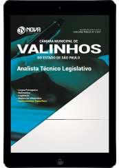Download Apostila Câmara de Valinhos - SP Pdf - Analista Técnico Legislativo