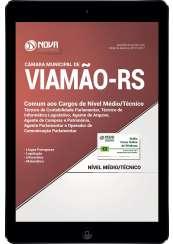 Download Apostila Câmara Municipal de Viamão - RS Pdf - Cargos de Nível Médio