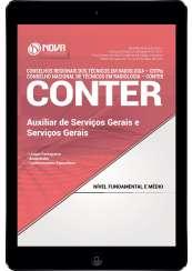 Download Apostila CONTER e CRTRs Pdf - Auxiliar de Serviços Gerais/ Serviços Gerais