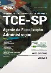 Apostila TCE SP 2017 - Agente da Fiscalização - Administração