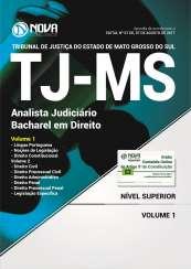 Apostila TJ-MS 2017 - Analista Judiciário / Bacharel em Direito