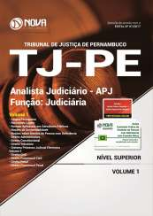Apostila TJ -PE - Analista Judiciário - Função: Judiciária