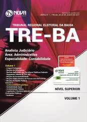 Apostila TRE-BA - Analista Judiciário – Área: Administrativa – Especialidade: Contabilidade
