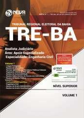 Apostila TRE-BA - Analista Judiciário – Área: Apoio Especializado – Especialidade: Engenharia Civil