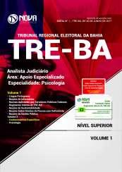 Apostila TRE-BA - Analista Judiciário – Área: Apoio Especializado – Especialidade: Psicologia