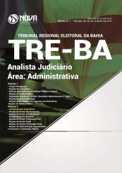 Apostila TRE-BA - Analista Judiciário - Área: Administrativa