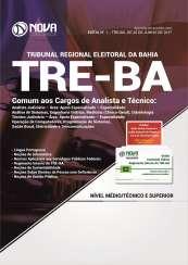 Apostila TRE-BA - Comum aos Cargos de Analista e Técnico