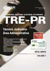 Apostila TRE-PR - Técnico Judiciário – Área Administrativa