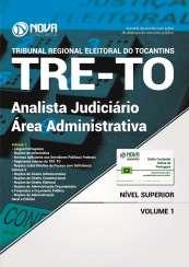 Apostila TRE-TO - Analista Judiciário - Área: Administrativa