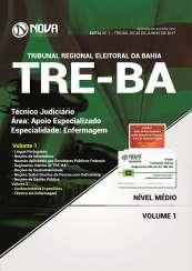 Apostila TRE-BA - Técnico Judiciário – Área: Apoio Especializado – Especialidade: Enfermagem