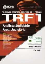 Apostila TRF 1ª Região 2017 - Analista Judiciário - Área: Judiciária