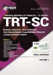Apostila TRT-SC (12ª Região) - Analista Judiciário - Oficial de Justiça