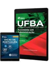 Download Apostila UFBA 2017 Pdf - Assistente em Administração