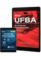 Download Apostila UFBA Pdf - Auxiliar em Administração
