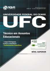 Apostila Universidade Federal do Ceará (UFC) - Técnico em Assuntos Educacionais