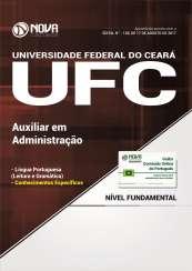 Apostila Universidade Federal do Ceará (UFC) - Auxiliar em Administração