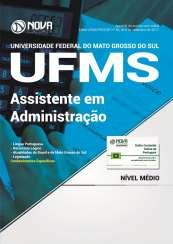 Apostila UFMS - Assistente em Administração