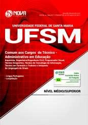 Apostila UFSM - RS - Comum aos Cargos de Técnico Administrativo em Educação