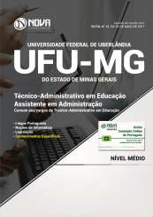 Apostila UFU-MG - Técnico-Administrativo em Educação: Assistente em Administração