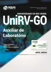 Apostila UniVR-GO - Auxiliar de Laboratório