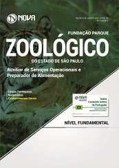 Apostila Zoológico de São Paulo SP - Auxiliar de Serv. Operacionais e Preparador de Alimentação