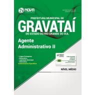 Apostila Prefeitura de Gravataí-RS - Agente Administrativo II