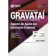 Apostila Prefeitura de Gravataí-RS - Agente de Apoio em Educação Especial