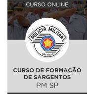 Curso Online PM-SP - Curso de Formação de Sargentos + Simulados