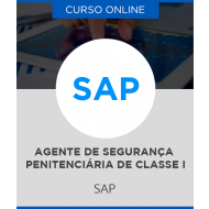 Curso Online SAP SP - Agente de Segurança Penitenciária de Classe I