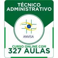 Curso Online ANVISA 2016 - Técnico Administrativo + Simulados