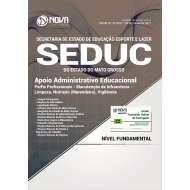 Apostila SEDUC-MT - Apoio Administrativo Educacional
