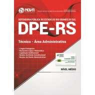 Apostila DPE-RS - Técnico - Área Administrativa