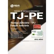 Apostila TJ-PE - Técnico Judiciário - TPJ / Função Judiciária